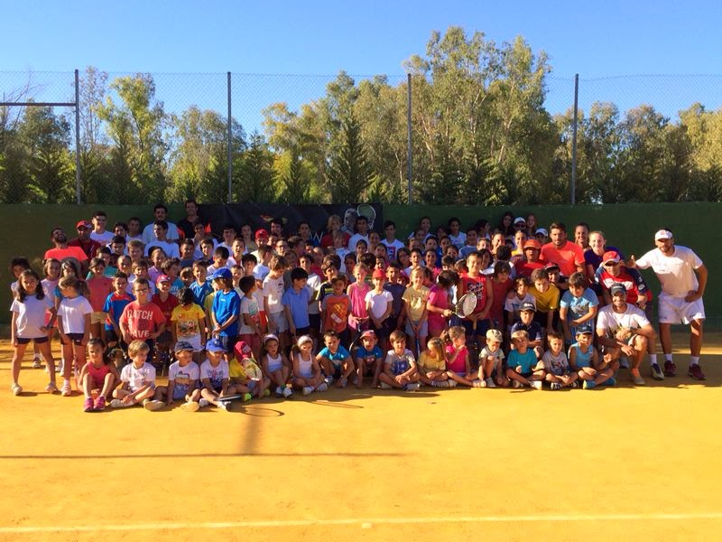 Escuela de tenis pena roldan - campamento verano 2014